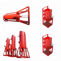 China API Drilling Mud Gas Separator for liquid and gas on sale