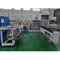 China Automated Sanitary Pads Packaging Machine , High efficient , Making bag online , servo control on sale