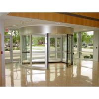 Cheap With Door Leaf Stop Positioning Function Induction Automatic Revolving Door with 2 wings for sale