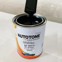 Cheap Auto Refinish- 1K Metallic basecoat (Paint)  Famous AUTOTONE Car Paint/Automotive Refinish 1K Metallic Basecoat, Silver for sale