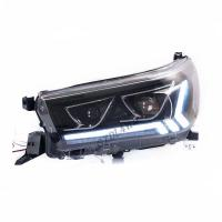 Quality Clear Surface Finish 4x4 Driving Lights Toyota Hilux Rocco 2019 Head Lamps Hilux wholesale