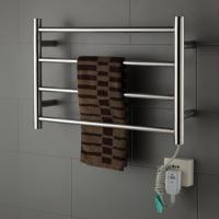 Cheap modern style 40w Stainless Steel Wall Mounted Electric Heated Towel warmer For Bathroom for sale