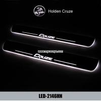 Cheap Holden Cruze auto accessory LED moving door scuff led lights suppliers for sale