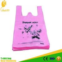 T shirt shopping bag garbage bag hdpe and ldpe plastic bag for Plastic bags for t shirts