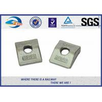 Cheap Railway Fastenings din rail mounting clips / Fastening plate for sale