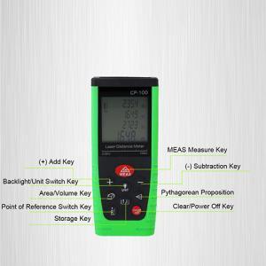 Cheap Mini Size Digital Laser Distance Meter Build Tool , 80m Long Range Rangefinder for sale