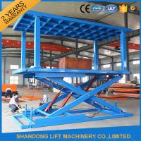 Cheap Portable Hydraulic Scissor Car Lift home elevator WITH high strength Manganese Steel for sale