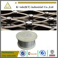 Cheap 316L Stainless Steel Wire rope For fishery industry for sale