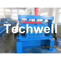 Cheap 10 - 12Mpa Hydraulic Pressure Metal Deck Roll Forming Machine for 0.8 - 1.2 mm Thickness for sale