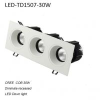 Cheap 30W interior IP42 dimmable LED down light for home decoration for sale