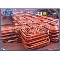 Cheap Red color Carbon Steel Superheater And Reheater , Energy Saving For Power Station for sale