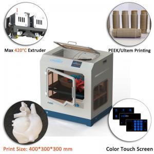 China CreatBot PEEK 3d Printer Printing high temperature filament F430 For 3d Model Printing 400*300*300mm large print size on sale