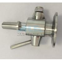 Cheap Sanitary Stainless Steel Sample Valve with Tri Clamp Ends Perlick Sample Valve for Beer Brewery for sale