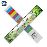 Buy cheap Straight 3D Lenticular Ruler For Promotional Gift Stationery Custom Shape from wholesalers