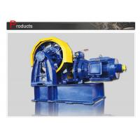Cheap Compact Geared  Lift Traction machine / Elevator Spare  Parts SN-TMYJ300 wholesale