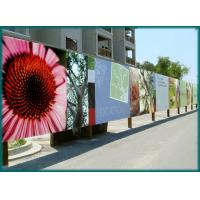Cheap High speed colorful Vinyl Banner Printing , 4 colour digital flex banner printing for sale