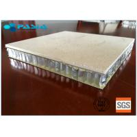 Cheap Marble Stone Honeycomb Roof Panels 1200mm Width / Length Sound Insulation for sale