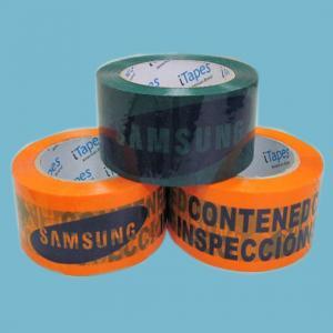 adhesive carton sealing Bopp Printed Packaging Tape for industrial workshop
