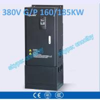Cheap 160kw 185kw motor pump 50Hz/60Hz AC drive CNC Variable-Frequency Drive VFD AC-DC-AC Low Voltage frequency converter wholesale