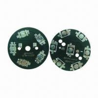 Buy cheap Double-sided Aluminum Base Boards, HASL Finish with Black Solder Mask from wholesalers