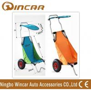 Cheap Aluminum Folding Beach Cart / surf fishing Cart Kayak Trolley for sale
