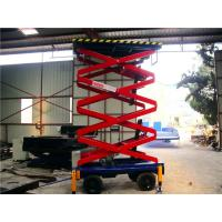 Cheap 6 meters hydraulic lifting equipment with motorized device , 500Kg loading for sale