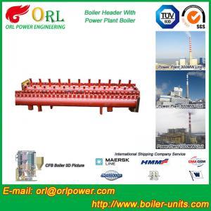 Buy cheap Solar Boiler Hydraulic Header Manifold / Manifold Header High Heating Efficiency from wholesalers