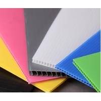 Cheap 4' x 8' Roofing Corrugated Plastic Sheets for Greenhouse , Waterproof for sale