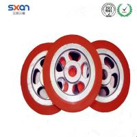 Cheap hot sale Silica gel wheel heat-Resistant non-marking silicone rubber wheels for sale