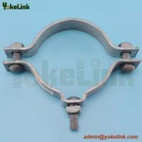 China China manufacture hot dip galvanized pole band clamp with low price on sale