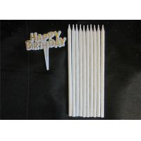 Cheap 10pcs Long 10 Holders Birthday Celebration Decorating Candles With Glitter for sale