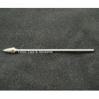 Cheap Long shank 3mm G shape Tungsten file/ carbide burrs for sale