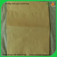 Cheap BMPAPER Brown Kraft Paper in Roll for Packaging for cement bags for sale