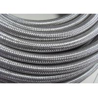 Quality Outer Stainless Steel Braided Compressed Air Hose Pure Rubber Tube Inside wholesale