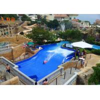 China Attractive Water Wave Pool Water Park Equipment Flowrider Surfing Skateboard Simulator on sale