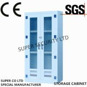 Cheap Hospital / Lab Polypropylene acid chemical Storage Cabinet 250litre capacity for sale