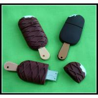 Buy cheap promotional ice cream shape full capacity with samsung chip PVC Usb Flash Drive from wholesalers