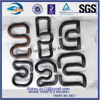 Cheap Custom SKL Crane Rail Clips E Clips Fasteners With Oxide Sprayed for sale