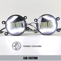 Cheap Holden Colorado car fog light installation upgrade DRL LED daytime lights for sale