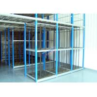 Cheap Customized Supply Chain Auto Parts Rack , Durable 4S Warehouse Storage Racks wholesale