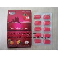 Cheap Strawberry Oral Chewing Gum Sex Enhancement for Women for sale
