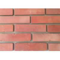 Cheap 3D51-3 Clay Thin Veneer Brick Turned Color Veneer Brick With Smooth Surface Edge Damages Style wholesale