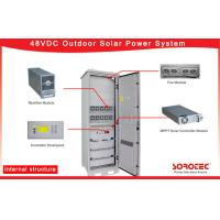 Buy cheap 98 % Efficiency Telecom Battery Backup Systems With MPPT Solar Charge Controller from wholesalers