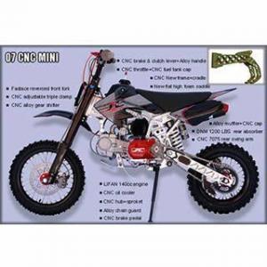 China Dirt Bike 07 CNC Mini on sale