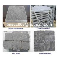 Cheap Tumbled Limestone paving( Blauwe hardsteen GETROMMELD ) supplier for sale