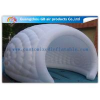 China Exhibition / Party Nylon Healthy Economic Inflatable Air Tent White Moon Tent on sale