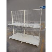 Cheap Professional Wire Mesh Shelves Store Display Equipment Excellent Appearance for sale