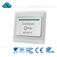 China Door Lock Access Control Intercom System Mechanicak Door Exit Push Button Switch on sale