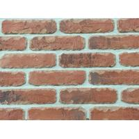 Custom Artificial Thin Veneer Brick Thickness 12mm With Turned Color