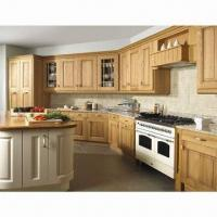 Integral Kitchen Cabinet, Made of Solid Wood or MDF 18mm Materials